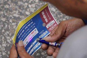 Bắt nhóm làm giả tinh vi gần 1.000 vé bóng đá trận Việt Nam - Thái Lan