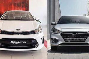 Kia Soluto giá rẻ, bám đuổi quyết liệt Hyundai Accent, Honda City