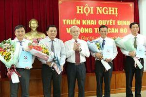 Ông Trần Trung Nhân giữ chức Trưởng ban Nội chính Tỉnh ủy Đồng Nai
