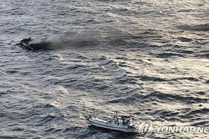 Sáu thuyền viên Việt Nam mất tích trong vụ cháy tàu ở Hàn Quốc