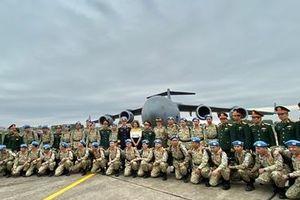 Australia điều máy bay C-17 đưa cán bộ bệnh viện dã chiến Việt Nam đi Nam Sudan