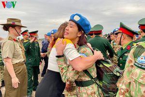 Cán bộ chiến sĩ Bệnh viện Dã chiến Cấp 2 lên đường sang Nam Sudan