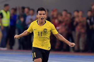 Safawi Rasid lập siêu phẩm đá phạt, Malaysia dẫn Indonesia 1-0