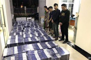 Thu giữ số lượng lớn thuốc lá ngoại nhập lậu