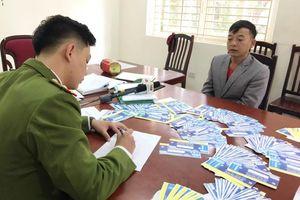 Toàn cảnh quy trình sản xuất vé giả 2 trận đấu có đội tuyển Việt Nam