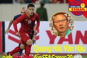 Thầy Park gút danh sách U-22 Việt Nam 'săn vàng' SEA Games 30