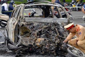 Mercedes GLC gây tai nạn sau khi mua ít ngày