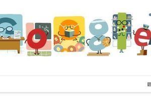 Biểu tượng đẹp mắt của Google tri ân các nhà giáo