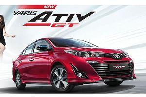 Xe giá rẻ Toyota Yaris Ativ 2020 ra mắt bản thể thao