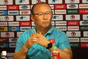 HLV Park Hang Seo không hài lòng với kết quả Việt Nam hòa Thái Lan