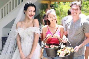 Phát 'sốt' với ngoại hình điển trai của hôn phu MC Hoàng Oanh