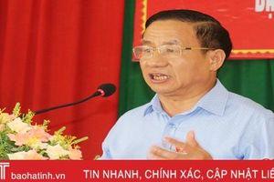 Bí thư Tỉnh ủy Hà Tĩnh: Tổ đại biểu HĐND tỉnh tổng hợp ý kiến cử tri để trả lời ngay trong kỳ họp sắp tới