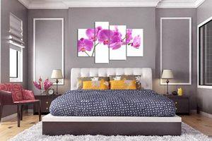 Treo tranh và đèn chùm khiến phòng ngủ nhà bạn phạm phong thủy?