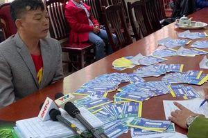 Triệt phá ổ nhóm in ấn gần 1.000 vé bóng đá giả trận Việt Nam - Thái Lan