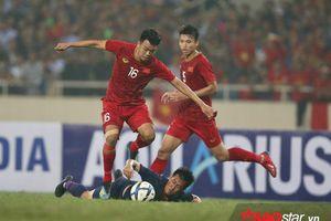 HLV Park giữ thủ môn Bùi Tiến Dũng, Hà Đức Chinh đá SEA Games 30