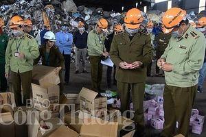 Cục Quản lý thị trường Hà Nội tiêu hủy trên 63 tấn hàng hóa vi phạm