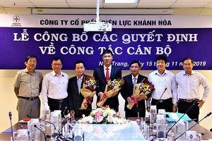 PC Khánh Hòa công bố quyết định về công tác cán bộ theo kết quả thi tuyển của EVNCPC