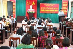 Thành phố Ninh Bình: Hiệu quả từ thi tuyển chức danh hiệu trưởng, phó hiệu trưởng các cấp học