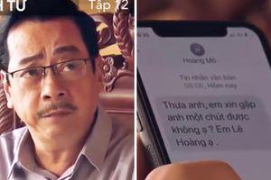 Lịch phát sóng Sinh tử tập 12: Hoàng 'mỏ' nhắn xin chủ tịch tỉnh chạy án