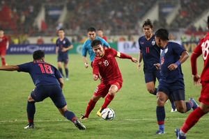 Hòa Thái Lan, tuyển Việt Nam vẫn thăng hạng trên bảng xếp hạng FIFA