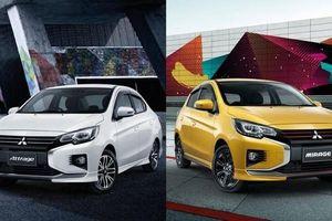 Bộ đôi Mitsubishi Attrage và Mirage mới ra mắt có gì đặc biệt?