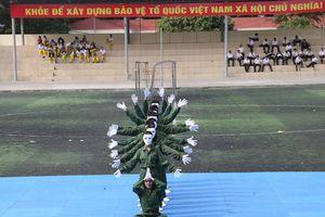 Cao đẳng ANND I tổ chức Hội thi Dân vũ chào mừng 20/11