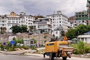 Lập phương án 'cắt ngọn' công trình vi phạm trong Khu biệt thự Ocean View Nha Trang