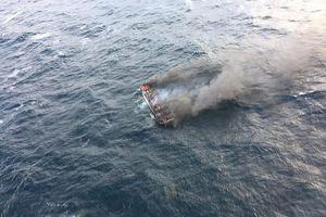 Tích cực cập nhật vụ cháy tàu cá Hàn Quốc khiến 6 thuyền viên Việt mất tích