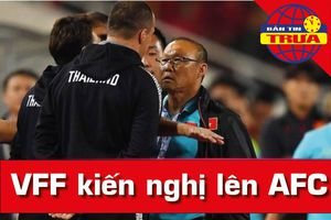 VFF kiến nghị AFC vụ ông Park bị xúc phạm