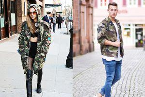 Áo khoác quân đội và những món đồ cả nam và nữ đều mặc đẹp