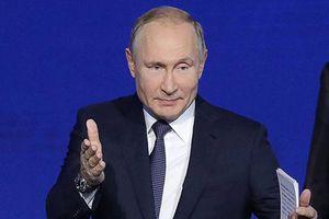 Tổng thống Putin: Mỹ 'tự bắn vào chân' khi cấm các công ty kinh doanh với Nga