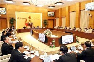 Thông qua Nghị quyết sắp xếp đơn vị hành chính tại 8 địa phương