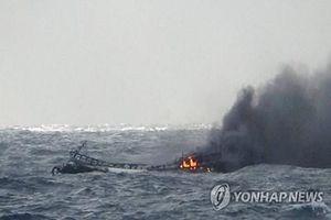Vụ cháy tàu cá ở Hàn Quốc: Có 5 nạn nhân người Quảng Bình đang mất tích