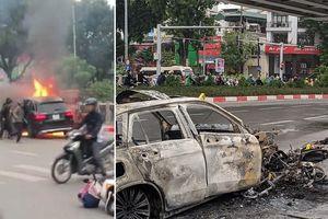 Nữ sinh viên kể lại phút bị Mercedes GLC 250 đâm hàng loạt xe máy gây cháy