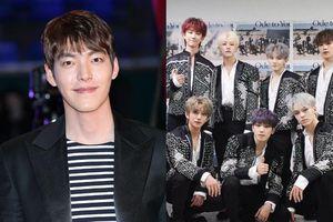 Sau 3 năm chữa bệnh ung thư, Kim Woo Bin cùng SEVENTEEN tham dự 'Giải Rồng Xanh 2019'