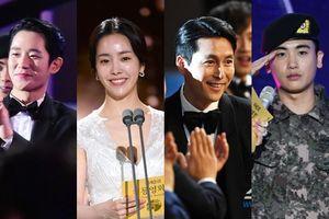 Ai như Han Ji Min, chạm mặt cả 5 'bạn trai màn ảnh' tại lễ trao giải 'Rồng xanh 2019'