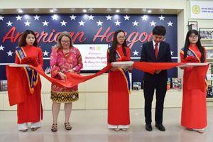 Khai trương 'Điểm hẹn Hoa Kỳ' tại Đại học An Giang