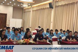 Lãnh đạo Tổng cục TDTT và Lãnh đạo VFF gặp mặt đội tuyển nữ Quốc gia trước khi lên đường tham dự SEA Games 30