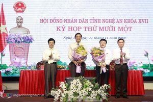 Thủ tướng phê chuẩn 2 tân Phó Chủ tịch tỉnh Nghệ An