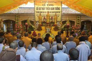 Thái Bình : BTS Phật giáo tỉnh viếng tang SC.Thích Đàm Tường