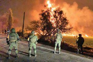Cháy đường ống dẫn dầu ở Mexico, 200 người dân phải sơ tán khẩn cấp