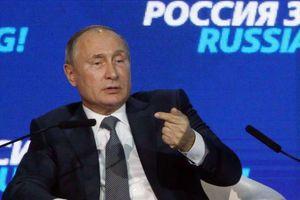 Ông Putin nói Mỹ 'tự bắn vào chân' khi hạn chế thương mại với Nga