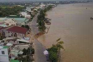Bán đảo Cà Mau lún nhanh nhất Đồng bằng sông Cửu Long
