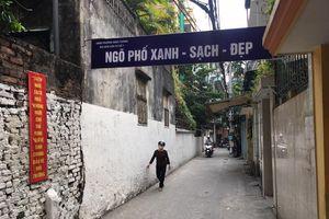 Quận Ba Đình: Hiệu quả tích cực từ cuộc thi 'Ngõ phố xanh – sạch – đẹp'
