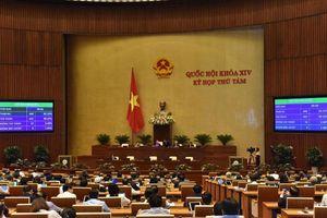 Quốc hội thông qua 33 sửa đổi, bổ sung của hai Luật tổ chức