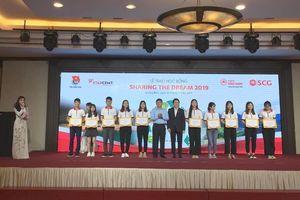 Quảng Bình: Trao tặng 50 suất học bổng SCG Sharing The Dream 2019