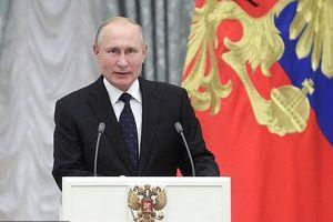 Tổng thống Putin: Nga sẽ hoàn thiện vũ khí 'chưa từng có trên thế giới bất luận mọi điều'