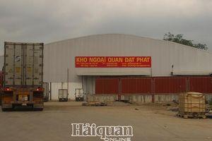 Đề nghị đấu nối đường ra, vào bến xe hàng hóa XNK, kho ngoại quan Đạt Phát