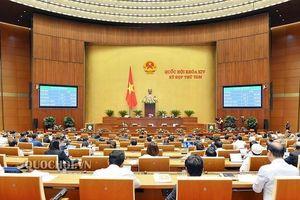 Quốc hội thông qua nhiều dự án luật
