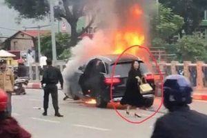 Tạm giữ hình sự lái xe ô tô gây tai nạn liên hoàn ở Hà Nội